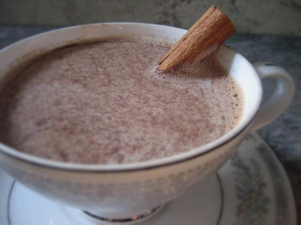 A slightly spicy Mexican Hot Chocolate that will warm your soul on a cold day.
