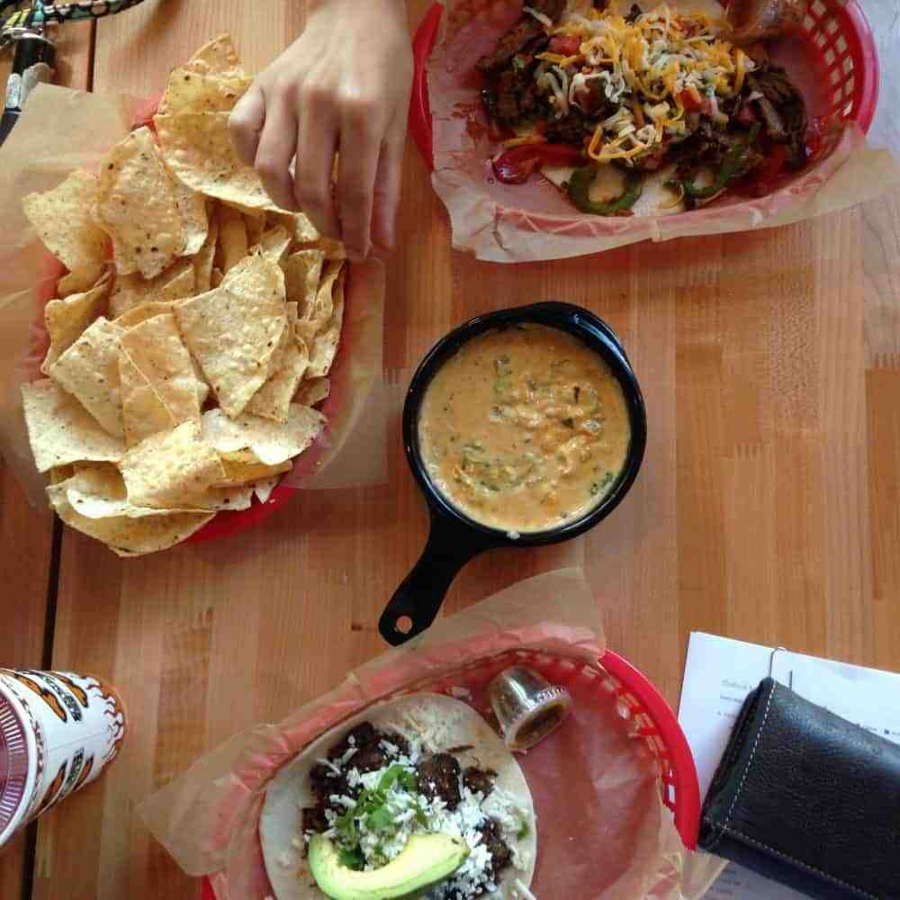 Torchys Green Chile Queso in Dallas