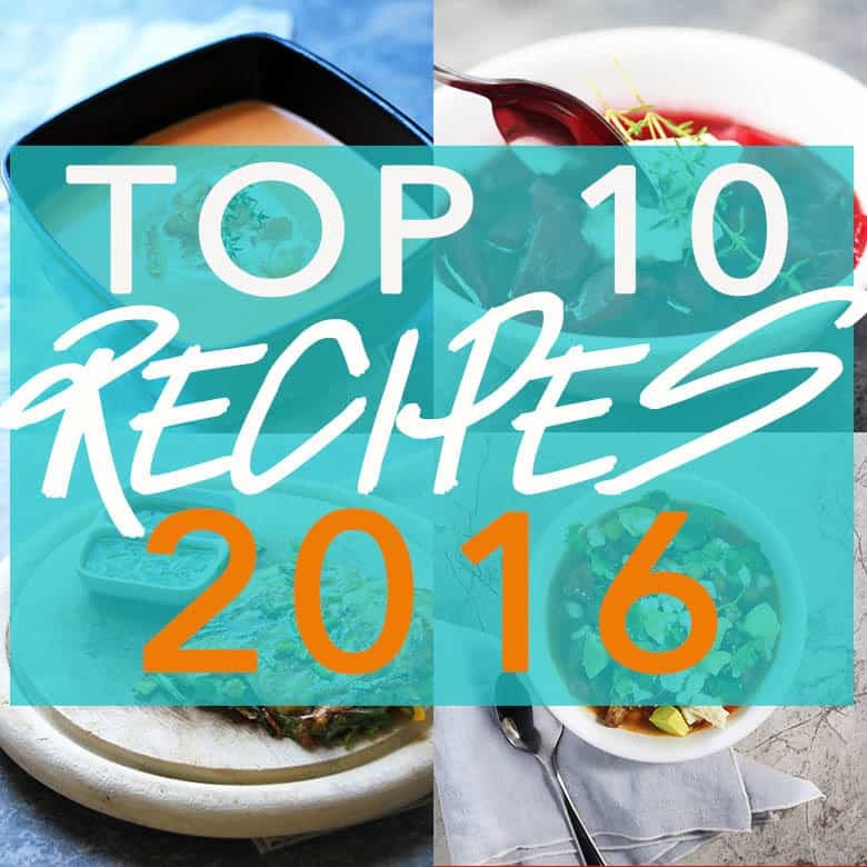 Top Ten Recipes 2016, your Fusion Craftiness favorites all in one spot. Thank you for a great year! | FusionCraftiness.com