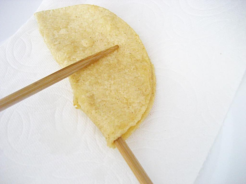 Frying your own corn tortillas makes for better tacos