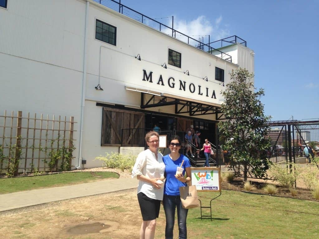 We visited Magnolia Market at the silos in Waco, Texas.