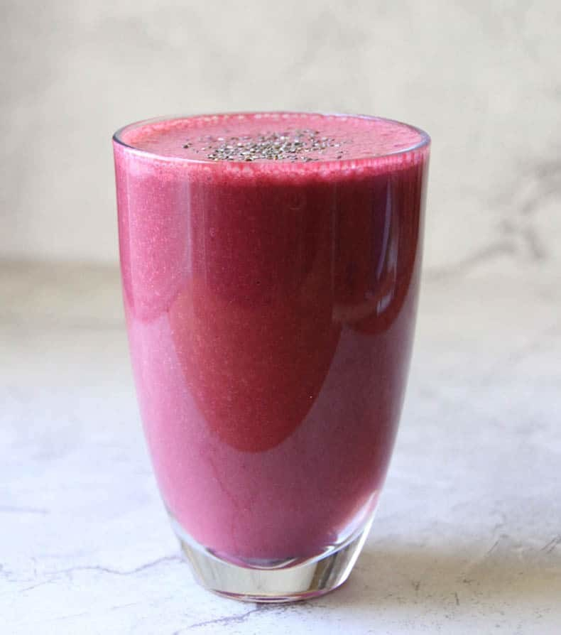 Healthy Beet and Yogurt Smoothie Recipe