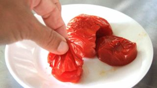How to peel a tomato | 2 methods