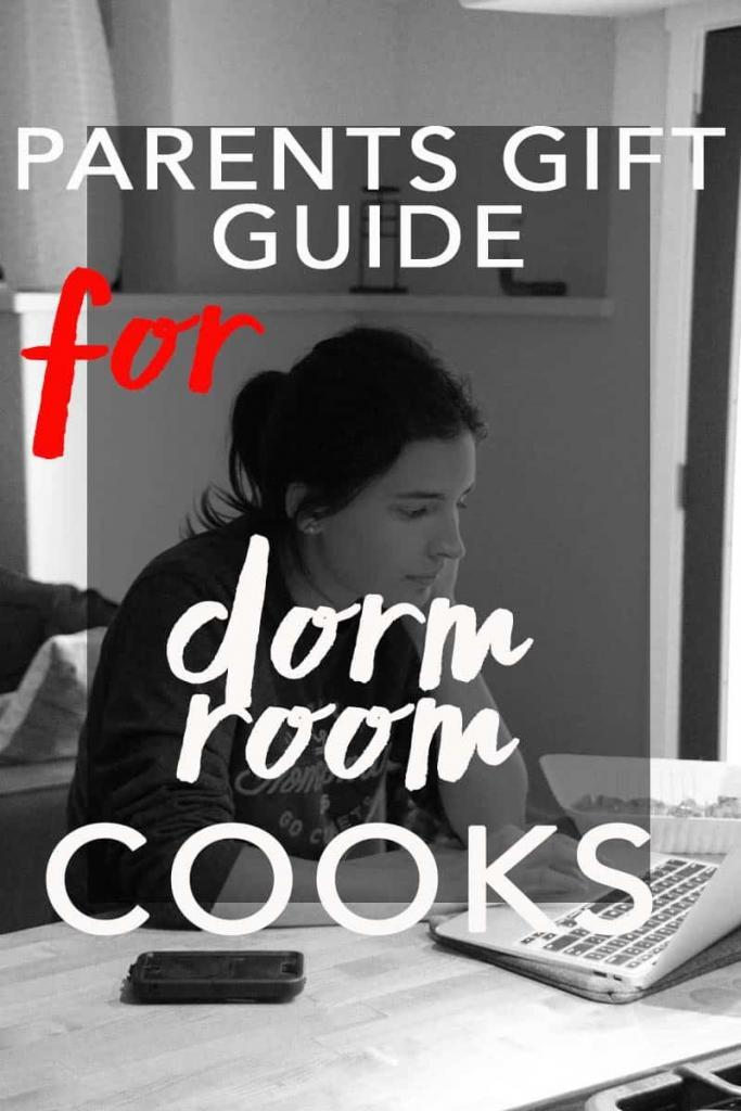 Parents Gift Guide for Dorm Room Cooks. The ultimate guide for college students who cook. Equip your college student with these essentials.