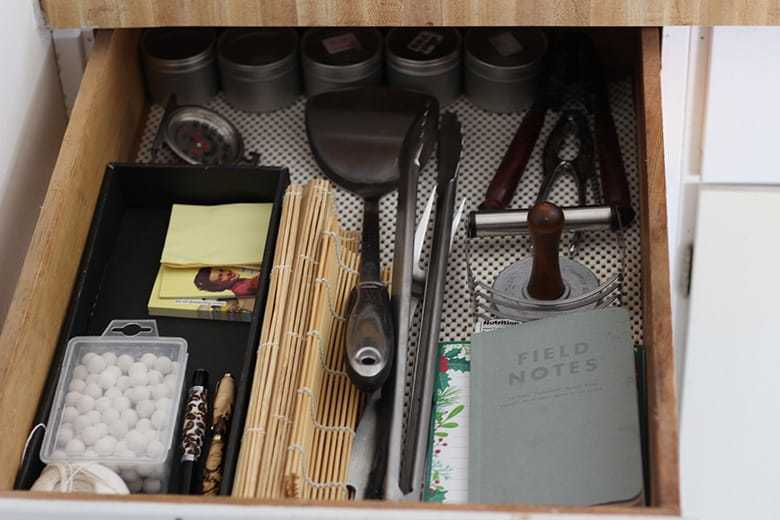 A re-vamped junk drawer.