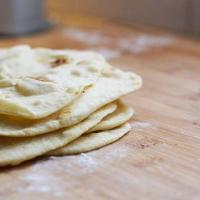 Easy Tortilla Recipe - in a food processor