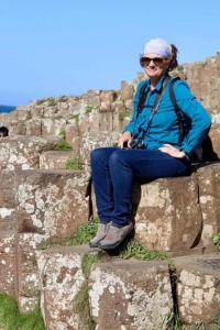 Sitting on Giants Causeway