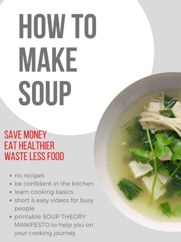 How to make soup.
